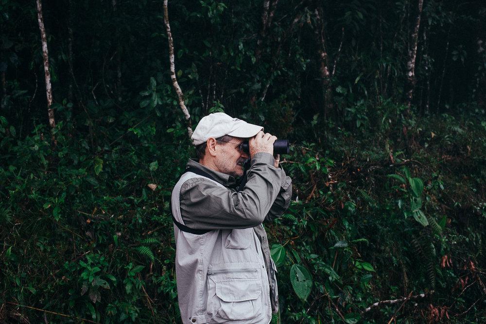 George Duriaux, fondateur et propriétaire de la réserve naturelle El Jaguar, au Nicaragua.