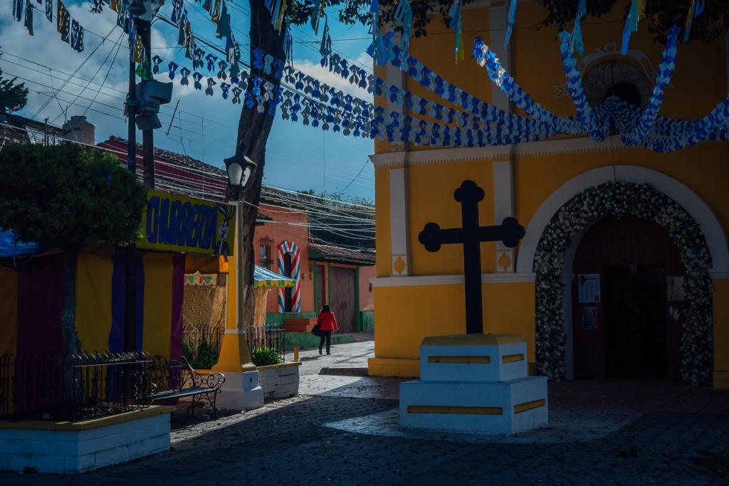 Scenes de rue a San Cristobal de las Casas. Photo : Valerian Mazataud Le Devoir